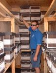 Document Storage Perth WA, with built in shelves, ergonomically designed record management holds up to 125 archive boxes