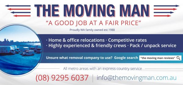 The Moving Man Recommended by AAA Storage & Removals Wembley