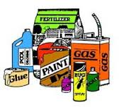 No Storage of dangerous, hazardous, explosive  items
