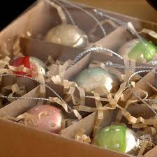 Christmas Baubles Packing Box with Dividers
